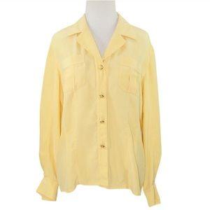 e17890c15ae4a Starington for SFA collection silk blouse Sz 6